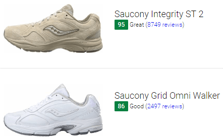 best saucony walking shoes