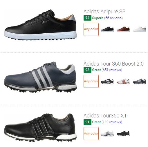 best Adidas golf shoes