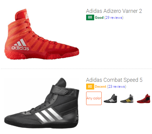 Best Adidas wrestling shoes