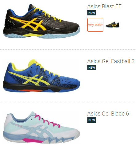 best Asics badminton shoes