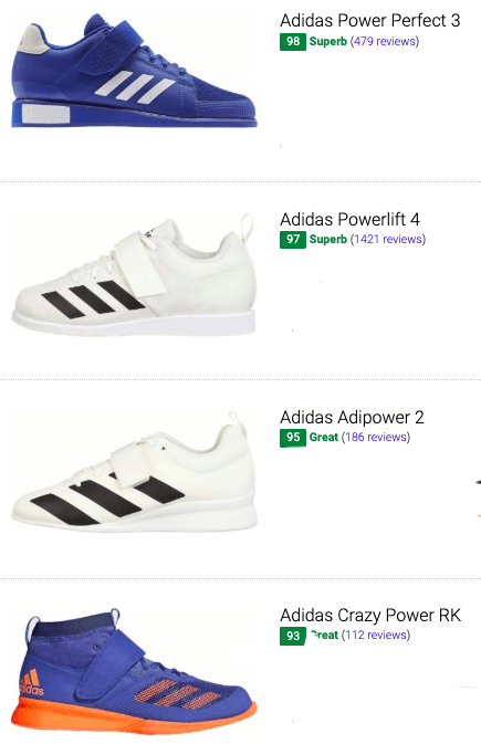 bet adidas weightlifting shoes