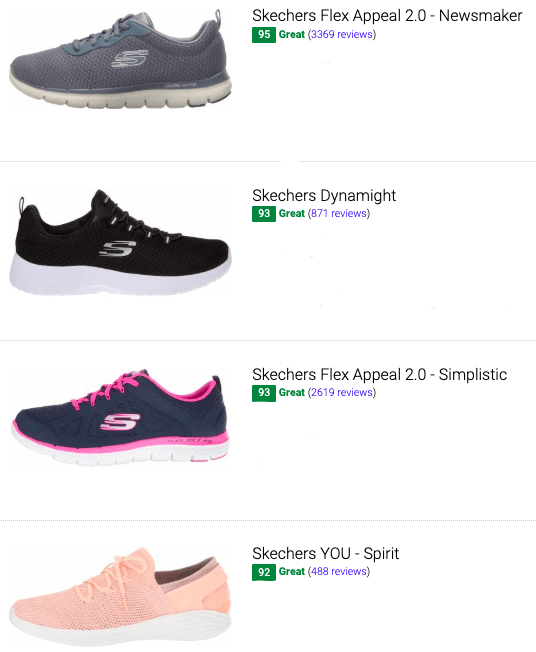 best skechers training shoes