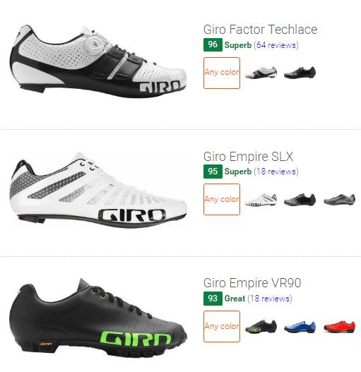 best Giro cycling shoes