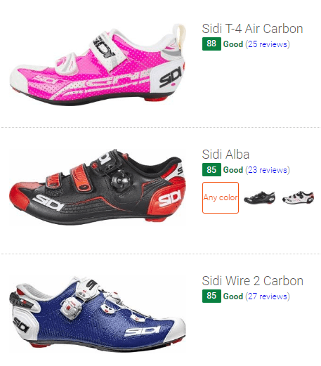 best Sidi cycling shoes