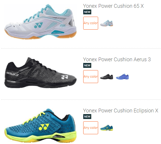 best Yonex badminton shoes