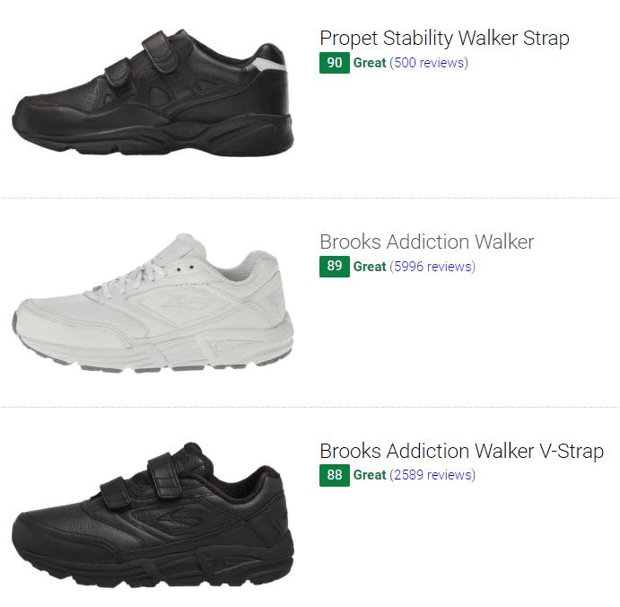 best walking shoes for flat feet