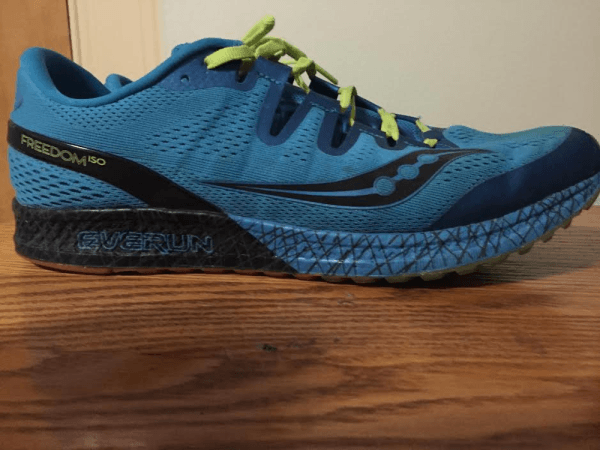 This shoe fits the same as Asics Dynaflyte, but runs a ½ size larger than  Asics Gel-Nimbus. It fits ½ size larger than La Sportiva trail running shoes .